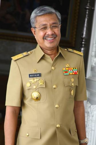 Gubernur Nur Alam Kendari Sulawesi Tenggara