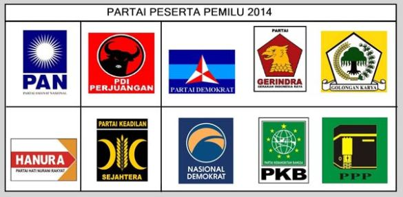 partai-peserta-pemilu-2014